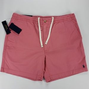 POLO RALPH LAUREN XL CLASSIC FIT SHORTS NWT RED
